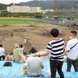 本日・7/10(土)は、久し振りに高校野球観戦となりました(^.-)☆(14)