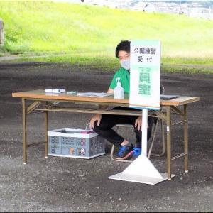 7/17(土)夕方は、五輪出場選手の公開練習を見学でした(^.-)☆(1)