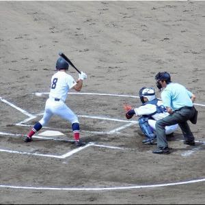 7/17(土)もまた、福山市民球場で高校野球観戦のGONsanです(^.-)☆(3)