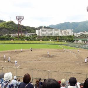 7/17(土)もまた、福山市民球場で高校野球観戦のGONsanです(^.-)☆(6)