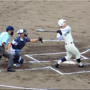 7/17(土)もまた、福山市民球場で高校野球観戦のGONsanです(^.-)☆(9)