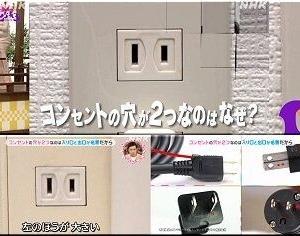 NHKの「チコちゃんに叱られる!」の番組…今回も勉強になりました(^.-)☆