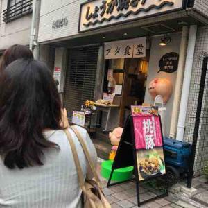 生姜焼きを求めて〜♪