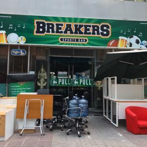 BREAKERS は営業自粛どこまで耐えられる?!