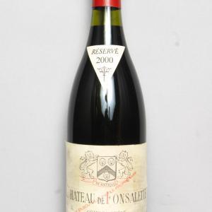 Ch. Fonsalette cuvée Syrah 2000 Rayas