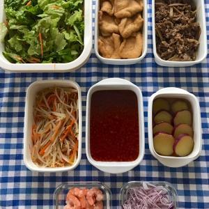 OFFの日の常備菜作りとお昼ごはんと晩ごはん