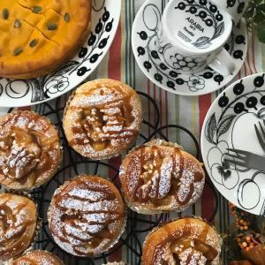 ミキサー1つで簡単かぼちゃケーキと焼きたてパンと作り置き