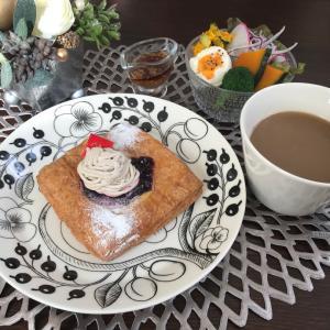 美味しいパンで朝ごはんと東京オリンピックの小話し☆娘の中国土産