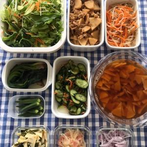 旬の食材で常備菜作り