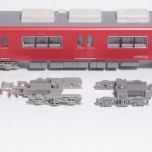 GM名鉄6750系キットの台車