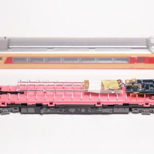 マイクロエースのキハ8000、スピーカー変更