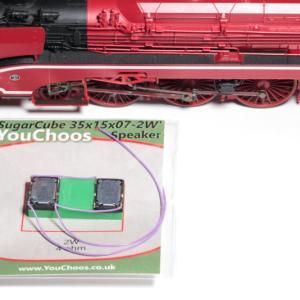 RocoのBR18 201のデコーダー交換