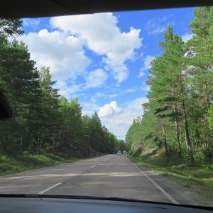 スウェーデンの車窓から