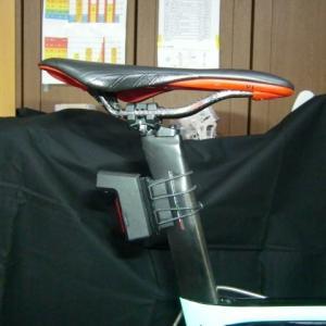 【Dragon Bike】中華バイク用リヤドライブレコーダーを使用してみての感想 その2【シートポスト用アダプターは自作】