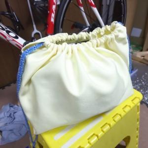 【安全】ヘルメットを入れる袋を製作【ゴロゴロしない】