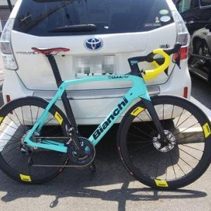 【ビアンキ オルトレ】購入した自転車の諸元を【XR4ディスク】
