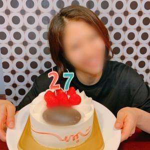 27歳HBD
