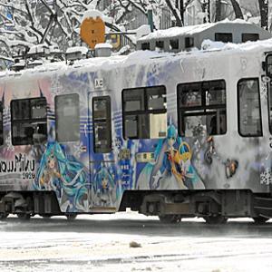 札幌市電(雪ミク電車2020 etc.)& 街なか徘徊など楽しみました。。。☆令和2年「北の大地」への旅⑧