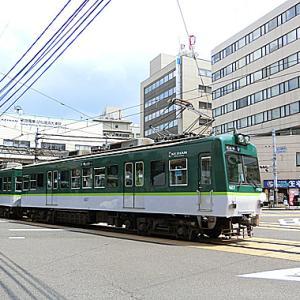京阪電車「びわ湖浜大津駅」にて。。。SMBC色にすべてがっ !