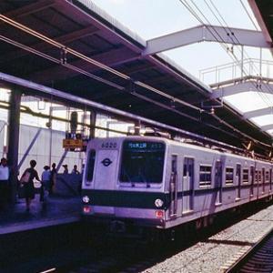 代々木上原駅で眺めた営団6000系&小田急9000系(昭和53年 夏)。。。まさかの ′そんなコト′ってあるの?