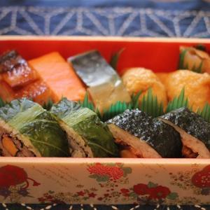 駅ナカのお寿司。