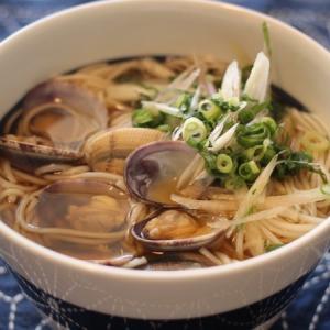 アサリの白石温麺。