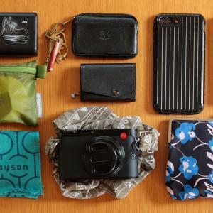 【ミニマリストのバッグの中身】荷物がごちゃごちゃになりやすい時、どうしてますか?