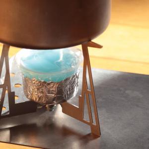 ダイソーの固形燃料を使ったお湯沸し専用セット一式のまとめ(トータル重量295g)