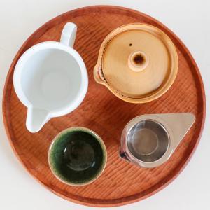 【自分専用お茶セット】お気に入りの道具で淹れるおいしい緑茶で、ほっとひといきティータイム
