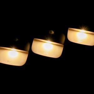 【真夜中の災害に】暗闇でも避難経路を自動的に照らしてくれる、アンカーのLEDセンサーライトを取り付けました。