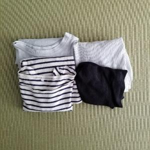 【衣類の片付け】春夏物 8着捨てました