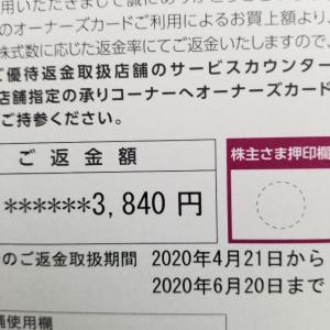 【イオン株主優待】2020年4月オーナーズカードの返金はいつまで?