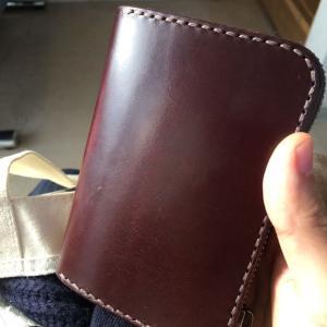 極厚ブライドルレザーの財布