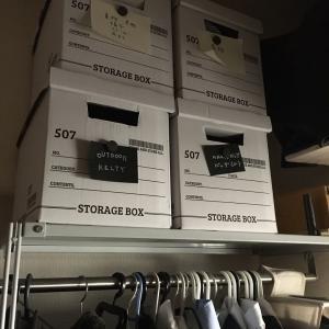 100円ショップ ワッツとキャンドゥのシンプルな紙製収納ボックス