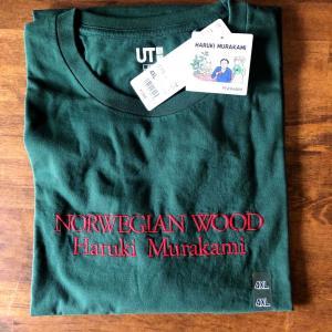 ユニクロで即購入したTシャツ