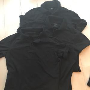 ユニクロのポロシャツを3枚サイズ違い買い