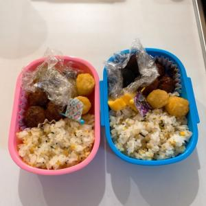 子供達のバス遠足のお弁当
