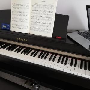 ピアノのオンラインレッスン 1ヵ月経過