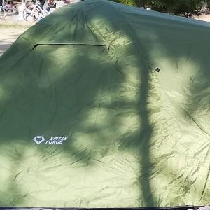 【キャンプ初心者】テントを買ったのでまずは公園で遊びました