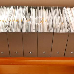 【書類整理】ホームファイリング上級・個人レッスン#2「分類・厚み調整」