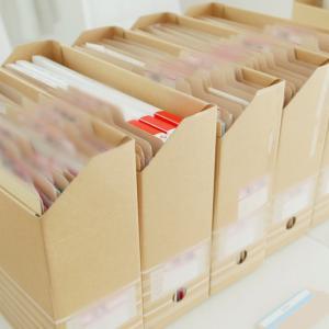 【書類整理サポート】必要な書類、分けてみると意外と少ない♪