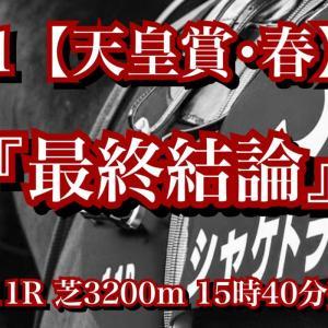 【最終結論】G1 天皇賞・春!横綱キタサンブラック包囲網確実となれば、サトノダイヤモンドが優位も更にキレ味上回る最強世代シャケトラで勝負!
