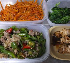 整体と健康を考えて副菜づくり
