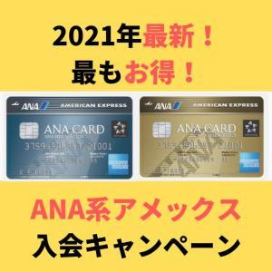 【2021年ANAアメックスゴールドキャンペーン最新情報】入会&継続の得ワザ公開します!