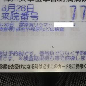 リウマチ内科&皮膚科受診`19/08
