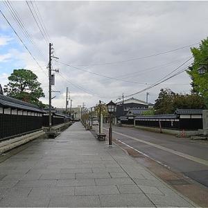 秋の福島・新潟旅 新発田 寺町をぶらり