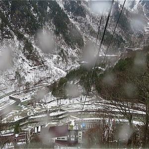 冬の岐阜旅 新穂高ロープウェイで雪の……