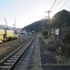 冬の岐阜旅 飛騨小坂駅