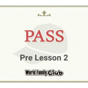【DWE】5月のCAP応募。ブルーCAP Pre Lesson2、PASSしました。