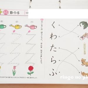【七田式プリント】プリント学習途中経過。プリントBのvol.1と2を終えました。
